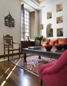 Ethnic indian living room interiors spanish colonial decorindian also decore pinterest rh