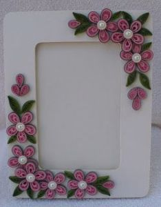 Let   create quilling photo frames and flowers also floral patterned pair rakhi  lumba by paranoid rh pinterest