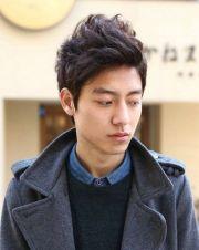easy wavy hairstyles asian men