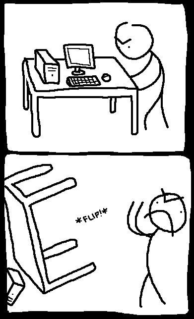 Stick Figure Flipping