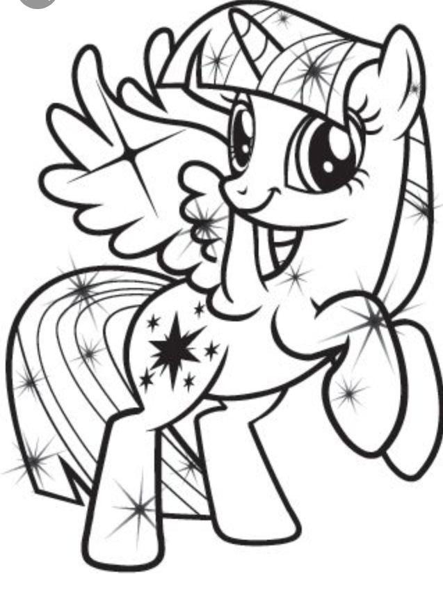 Pony Malvorlage