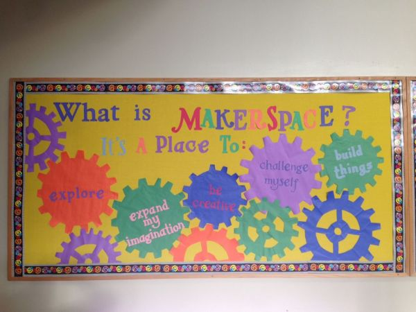 Elementary School Library Bulletin Boards