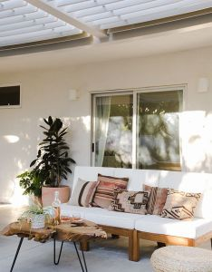 Here are ease ways to upgrade your backyard into an outdoor relaxing space succulent walls accent pieces hanging chairs bar carts and ornate table also pin by roxy pie on deco pinterest living rh