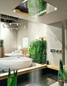 Custom shower designs are modern ideas that bring spectacular natural materials and interesting architecture into homes also bringing nature rh pinterest