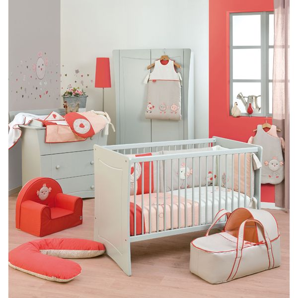 dcoration chambre bb corail  chambre de bb  Pinterest  Turquoise Child room and Bebe