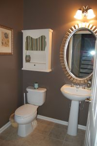 Powder room bathroom color?