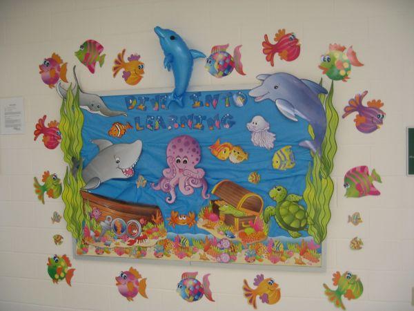 Dive Learning School Bulletin Board