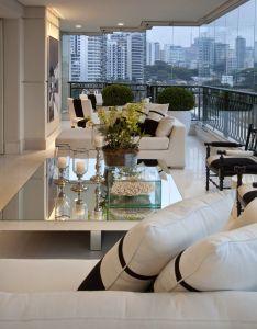 Decor salteado blog de decoracao  arquitetura apartamento moderno com preto  branco also rh pinterest
