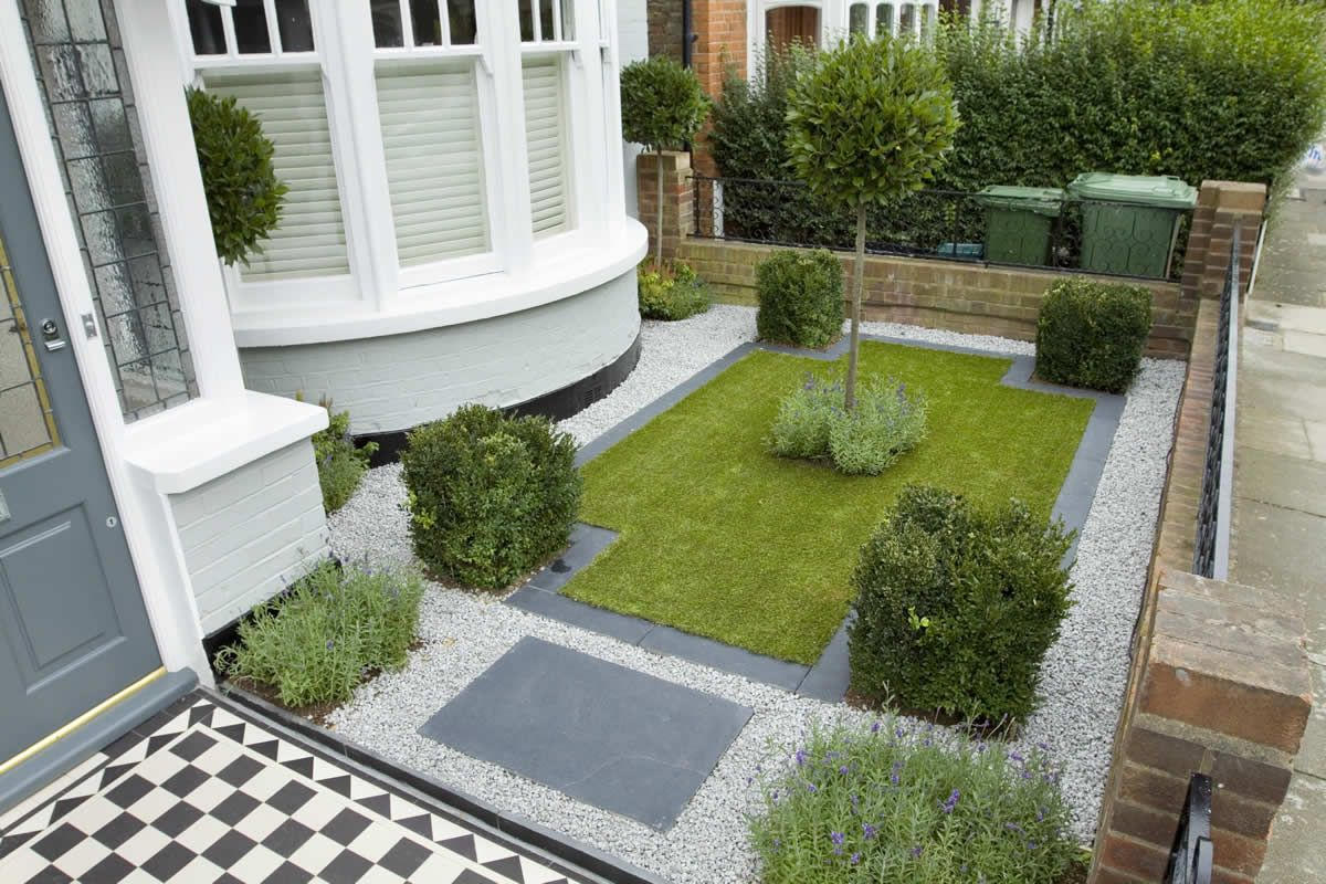 Small Formal Gardens Miniature Front Formal Garden Via Garden