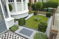 Small Formal Gardens | Miniature Front Formal Garden, via ...