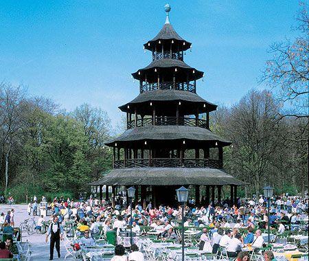 Englischer Garten München Biergarten Am Chinesischen Turm Been