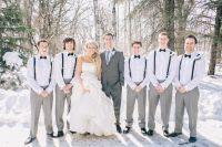#suspenders #groomsmen #bow #ties | Wedding Planning ...