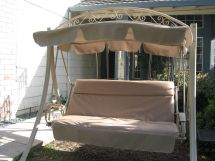 Costco Patio Swing with Canopy