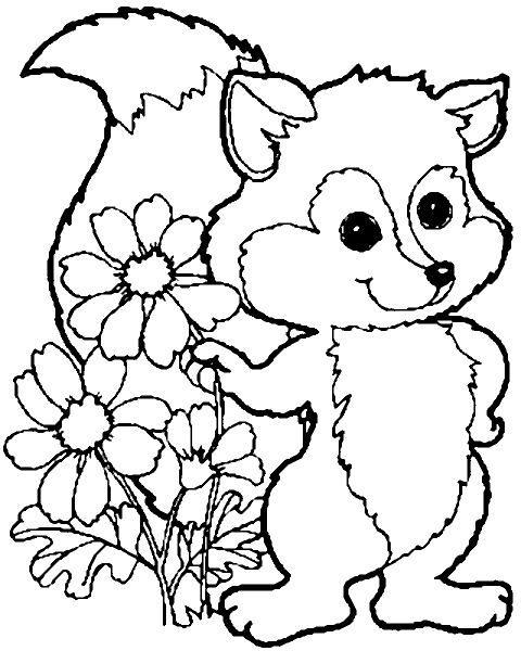 Malvorlagen Tiere Wald #1 animal coloring Pinterest
