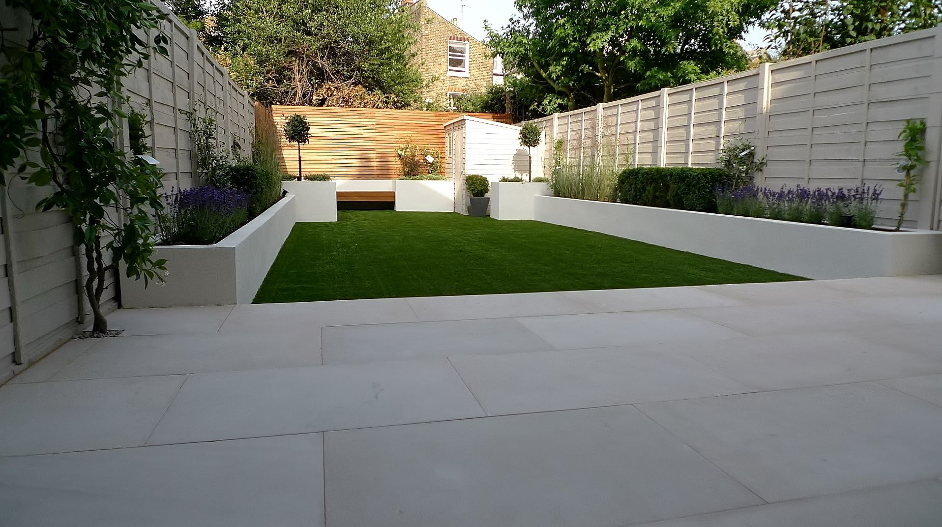 Modern Garden Design Ideas Uk Amazing Design Samples Pictures With