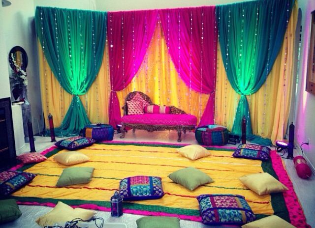 Mehndi Decoration Ideas 2016 #MehndiDecorationIdeas