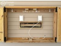 Downright Simple: Outdoor TV Cabinet | Outside Projects ...
