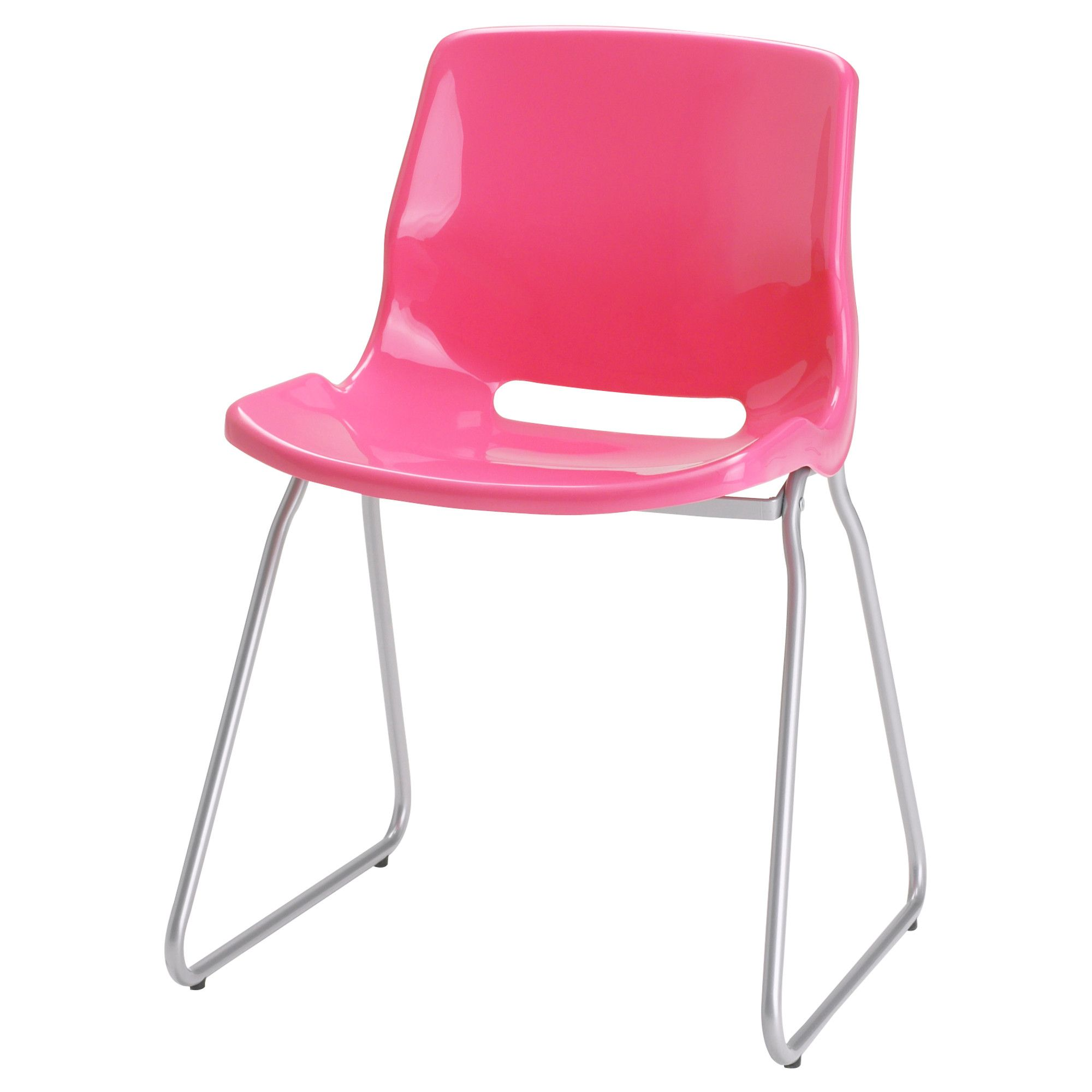 ikea pink desk chair stacking rolling chairs snille visitor new office