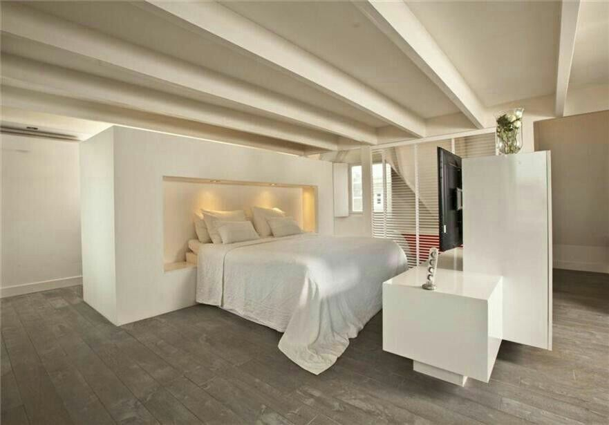 Mooie slaapkamer ontwerp Jan des Bouvrie  Jan  Monique