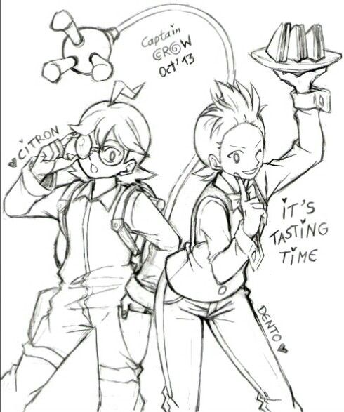 X And Y Gym Leaders