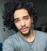 #curls #man #black inspiration