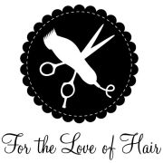 love of hair logo stylists