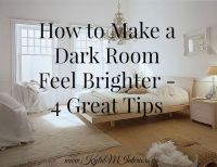 Brighten Dark Rooms on Pinterest   Farmhouse Furniture ...