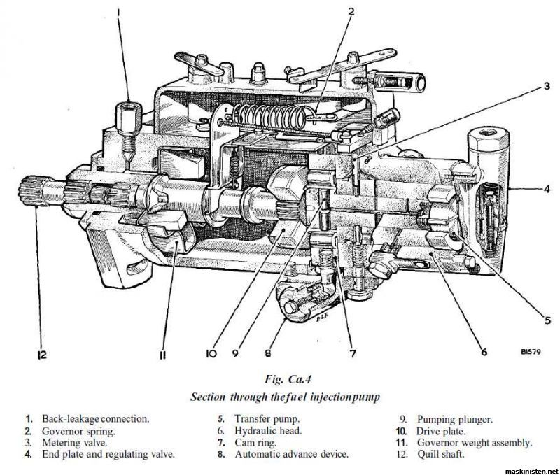 lucas cav injection pump diagram pictures to pin