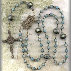 How To Pray The Rosary Diagram Titanic Parts Rozenkrans Cuentas Y Soutache Pinterest Rosario