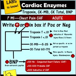 Lab Value Diagram 1989 Toyota Pickup Cigarette Lighter Wiring Cardiac Enzymes Fishbone Cheat Sheet Mnemonic Nursing