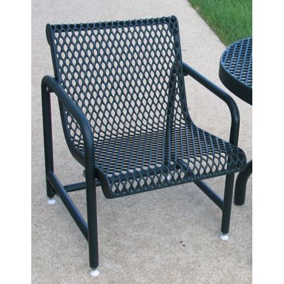 outdoor patio chair expanded metal mesh availability build to order this outdoor