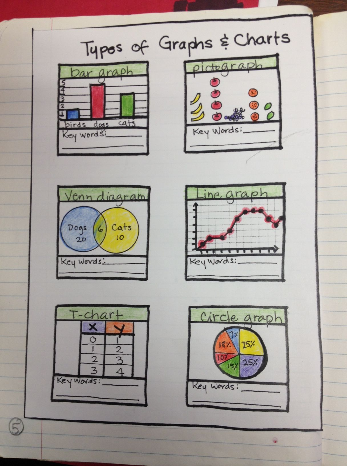 Graph Types For Interactive Notebook