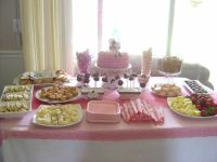 table setup for a baby shower | Saturday, June 05, 2010 ...