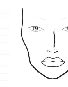 Mac makeup face chart template homeschoolingforfree mac face chart templates are ideal for your portfolio along with looks on models as well maxwellsz