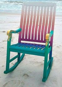 Whimsical Hand Painted Art Furniture | Painted Furniture ...