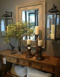 Farmhouse style makeover project idea home decor your personal decorator difficulty simple also rh pinterest