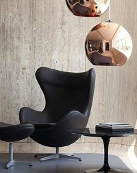Arne Jacobsen's Egg Chair  Love at first sight