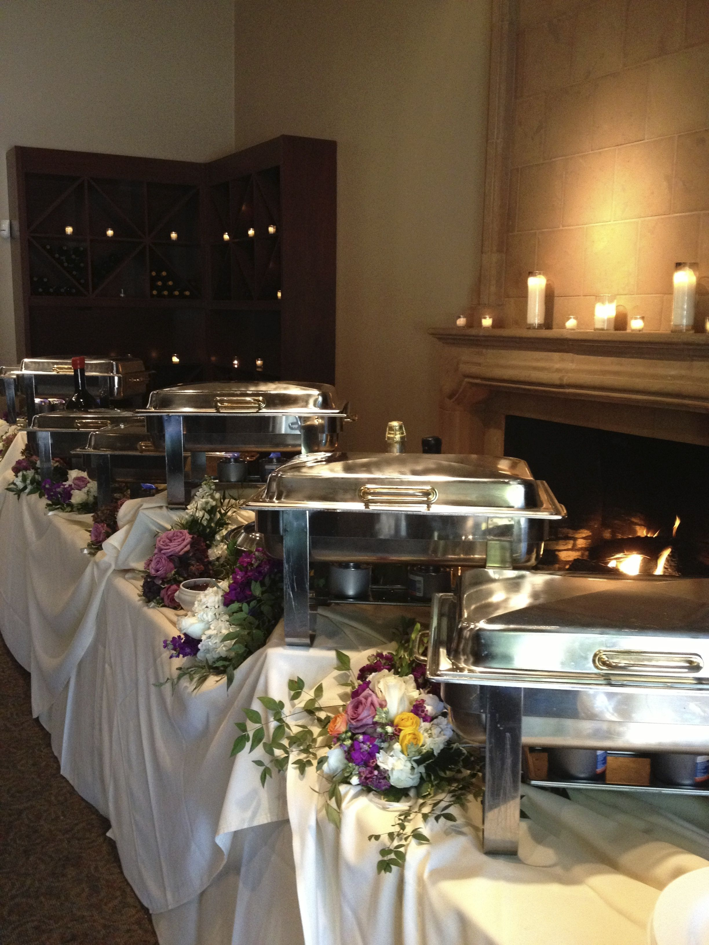 catering buffet set up diagram schneider shunt trip wiring setting table and ksp services