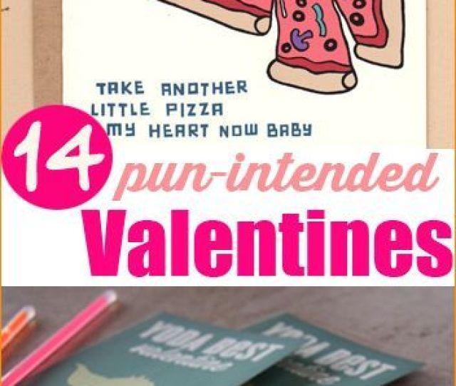 Pun Intended Valentine Cards Creative Diy Valentine Cards