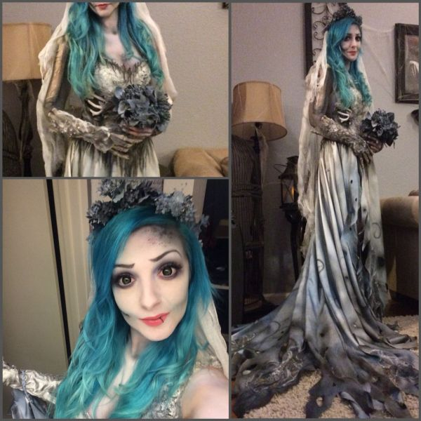 Corpse Bride Makeup And Costume Nicole Chilelli