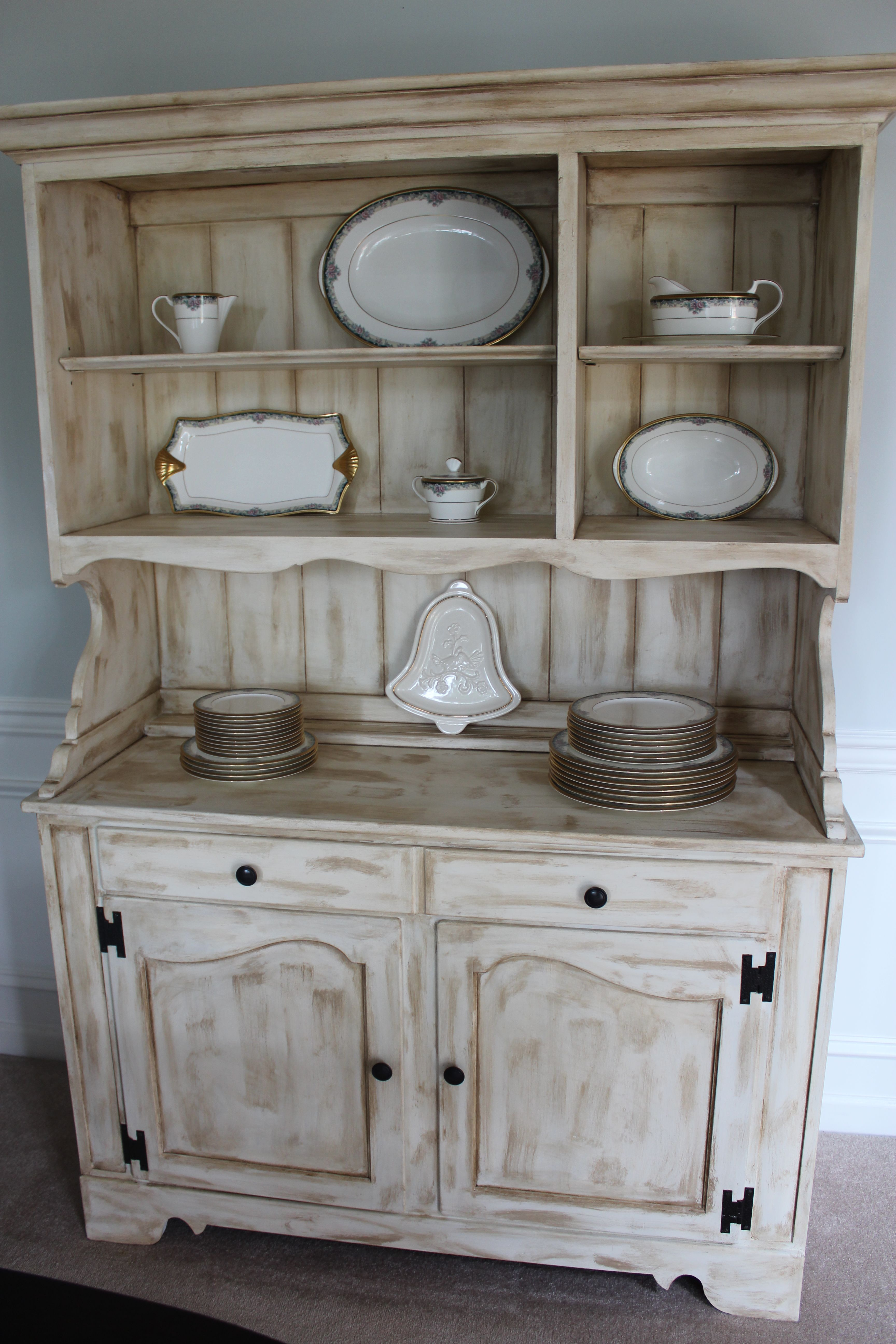 Dining Room hutch  Refinished Furniture  Pinterest