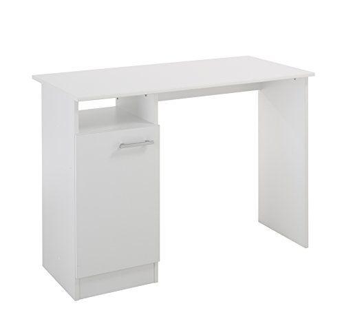 max 6460bu1p bureau avec porte blanc 100 2 x 49 x 73 7 cm