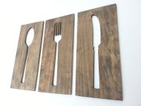 Wooden Spoon And Fork Wall Decor | www.pixshark.com ...