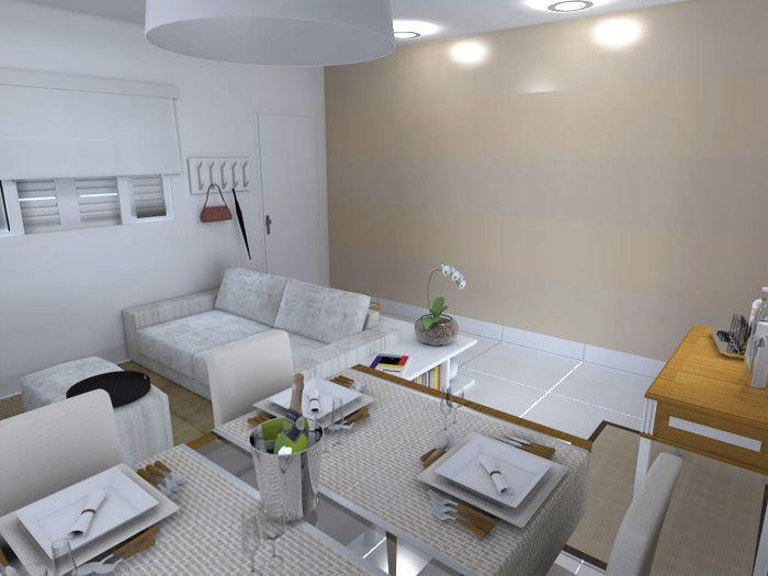 Como decorar uma sala quadrada  Como decorar uma sala Salas e Porta de