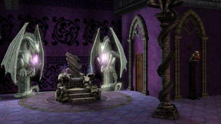 throne room sims dark magic medieval castle gothic fantasy vampire game sala trono darkmagic pictagram info salvo