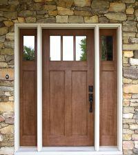 Exterior Doors | craftsman style fir textured fiberglass ...