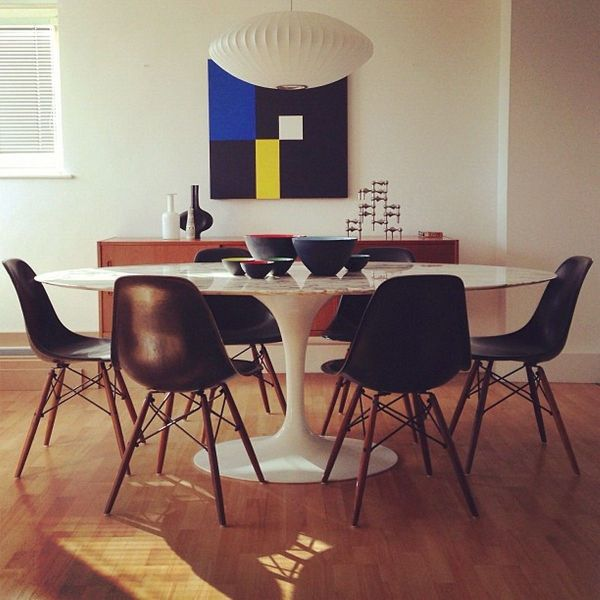 Tulip Dining Table with Chairs