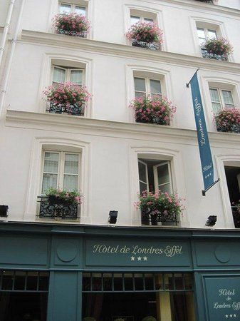 Photos Of Hotel De Londres Eiffel Paris Hotel Images Tripadvisor