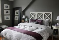 gray and purple decorating ideas | Purple Gray Master ...