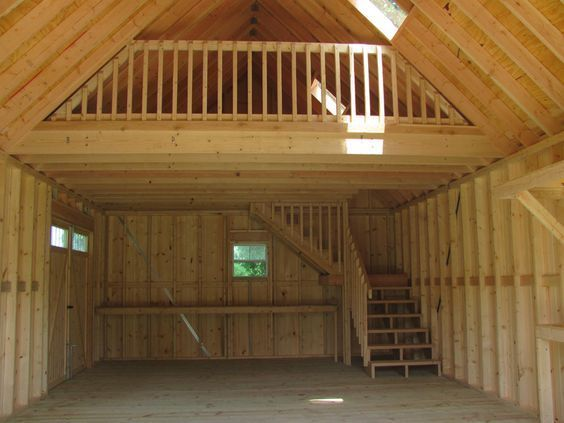 Beam Simple Post Homes Barn And